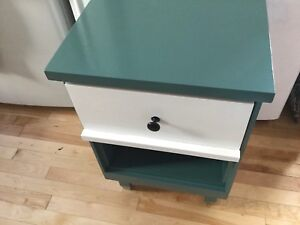 Jade small single bedside table - 1 available