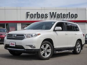 2013 Toyota Highlander 1 OWNER! LEATHER/ROOF/BACK-UP CAM