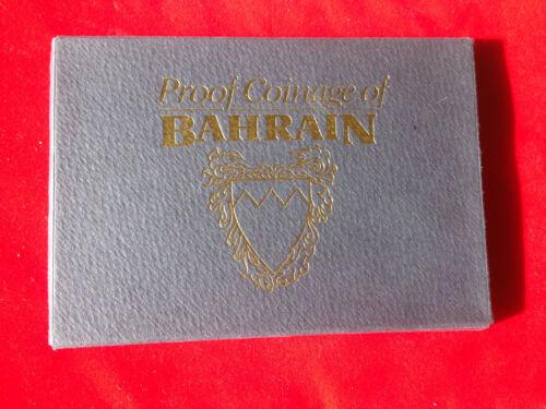 Bahrain; 8 Coins PROOF  SET  AH1385 - 1965  RARE !!!