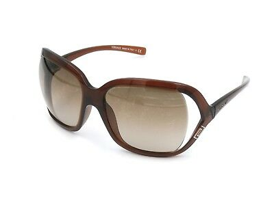 VERSACE MOD 4114 101/13 Women's Oversized Sunglasses, Brown 59-16-115 Italy #I66