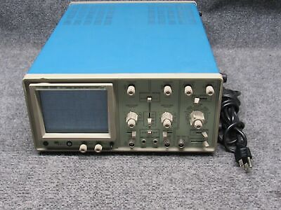 Hung Chang Model Hc-l202 2-channel 20mhz Oscilloscope Analog O-scope Tested