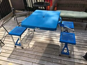 Folding Picnic table SOLD PPU