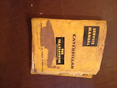 Caterpillar Cat 988 Traxcavator Bulldozer Tractor Service Manual 87a