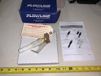 -new- Flowline Lu10-2405 Ultrasonic Level Switch Universal Pfa 12u433