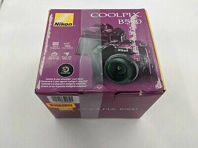 New Nikon Coolpix B500 Digital Camera 16MP 40X Optical Zoom, Purple -LH0297