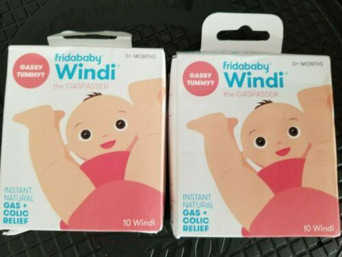 2 boxes of Nosefrida The Windi Gas and Colic Reliever for Babies LQQK