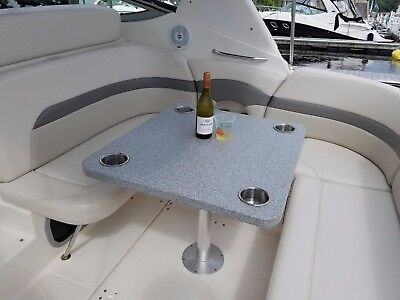 corian boat rv camper motor home trailer card table solid surface houze custom