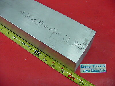 3 X 4 Aluminum 6061 Flat Bar 16 Long Solid T6511 Extruded Plate Mill Stock
