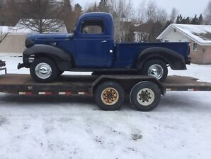Classic car and truck buyer /seller in Kenora,N/W Ont. and Man.