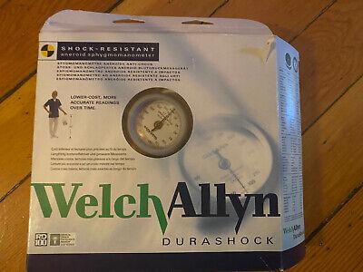 Welch Allyn Ds44-11 Aneroid Sphygmomanometer Durashock Large Adult Cuff Bronze