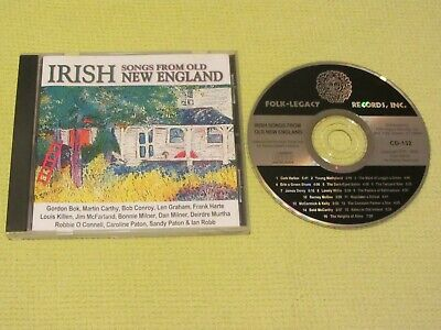 Irish Songs from Old New England CD Album 2003 CD Album Folk MINT