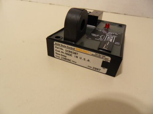 SCR630T - SSAC Univ Lamp Alarm 230VAC Relay for Beacon Obstruct