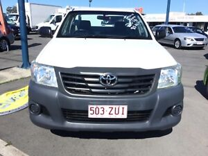 2014 Toyota Hilux WORKMATE Manual Ute Capalaba Brisbane South East Preview