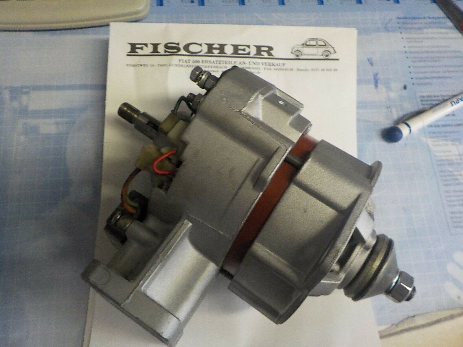 Dichtsatz Vergaser 28 IMB 5 Teile Fiat 500 126 P  gasket set carburator