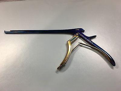 V. Mueller Neurospine Nl4273-85 5mm Chroma-line Blue Kerrison Rongeurs