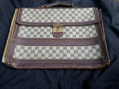 Vintage Gucci Laptop Case Portfolio Bag See Description