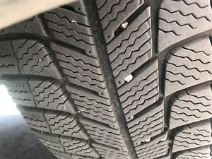 MICHELIN 225 55r17winter tires