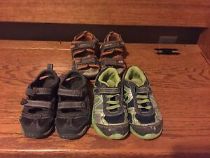 Boys size 10 summer shoes
