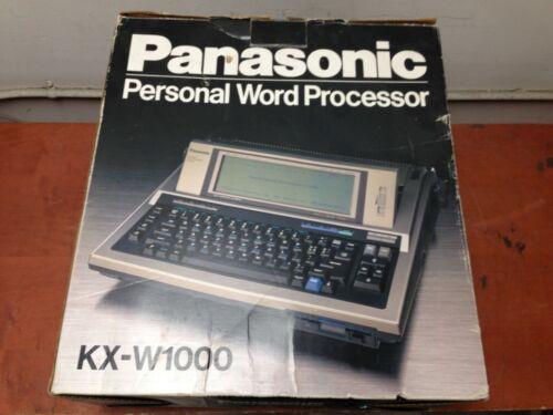 Vintage Panasonic Personal Word Processor KX-W1000 | OO67