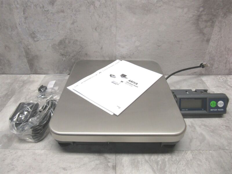 NEW Mettler Toledo ARIVA 30lbs DIGITAL POS SCALE + Adapter S-135-SBG