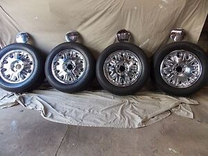 """Ford Ltd wheels and tyres 16"""" South Wentworthville Parramatta Area Preview"""