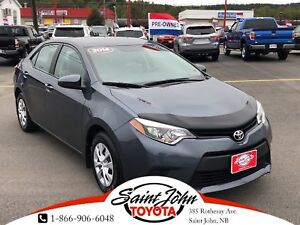 2014 Toyota Corolla CE $137.25 BIWEEKLY!!!