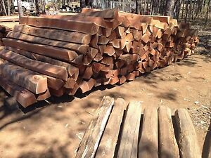 Split posts, strainers, timber fence posts Wondai South Burnett Area Preview