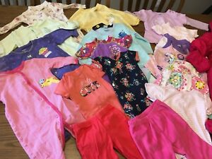 6 month girls clothes $25
