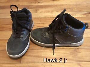 ❌ HAWK Garçon 7-8 ans Souliers chaussures enfant (2 jr)