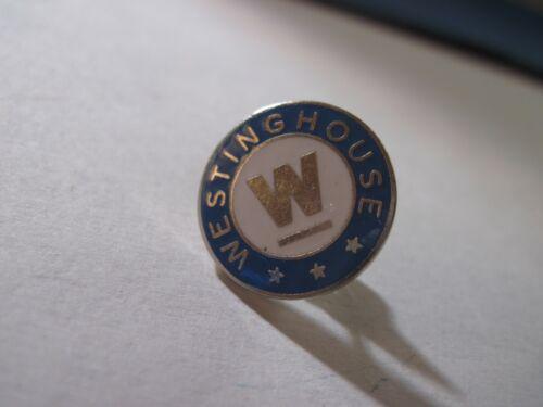 vintage  Westinghouse    cloisonne  logo   silvertone  pin