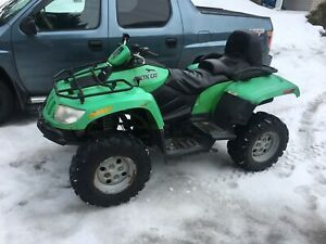 2008 Arctic H1 TRV 650 Legal 2 Seater 4x4 Hi-Lo & 4x4 Lock Trade