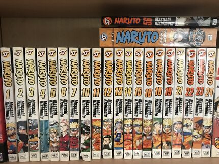 Naruto Manga collection
