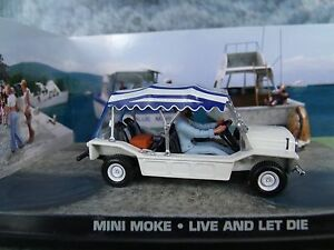 1/43 Mini Moke  James Bond Live And Let Die 007 series  diorama