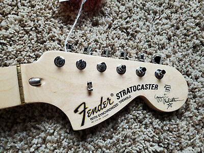 Yngwie Malmsteen Scalloped Fender Maple Neck NEW