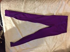 PURPLE LULU TIGHTS WITH MESH SIZE 6