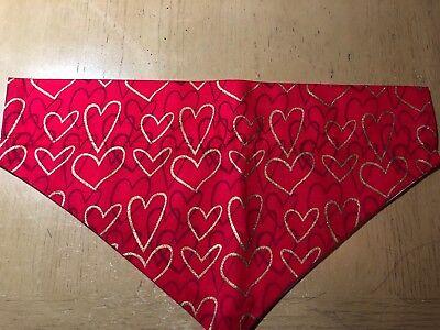 Dog Collar Bandana Hearts Valentine S (1771-1776)