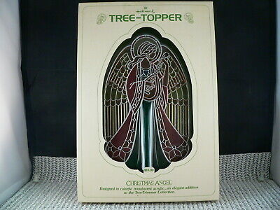 HALLMARK TREE TOPPER 1979 CHRISTMAS ANGEL-----ACRYLIC