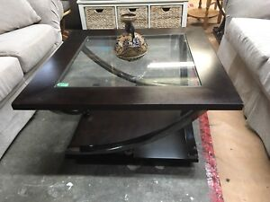 Coffee table and end tanles