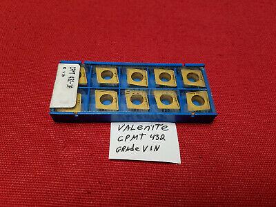 CCMT 432-1A V1N VALENITE  INSERTS