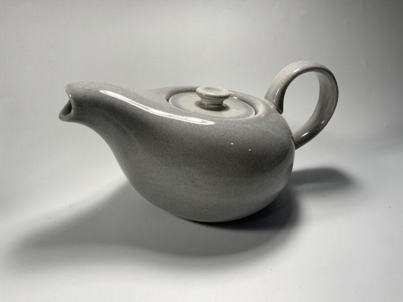 Russel Wright Gray Ceramic 10 Inch Teapot