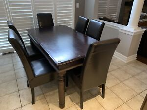 Antique custom kitchen table set with chairs  for sale