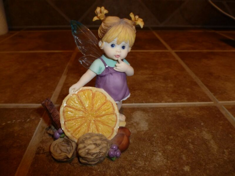 ENESCO Little Kitchen Fairie - FRUIT and NUT FAIRIE