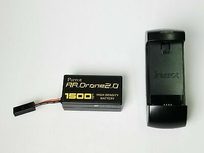 Genuine OEM Original Parrot AR Drone 2.0 Battery Charger with Battery