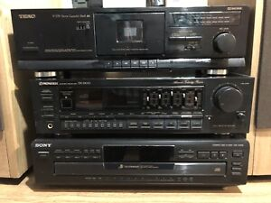 Tape deck, receiver and CD changer