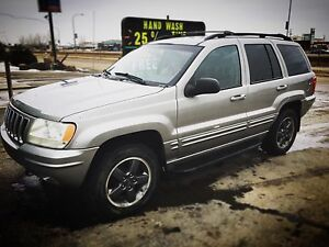 For trade 2002 Jeep Grand Cherokee