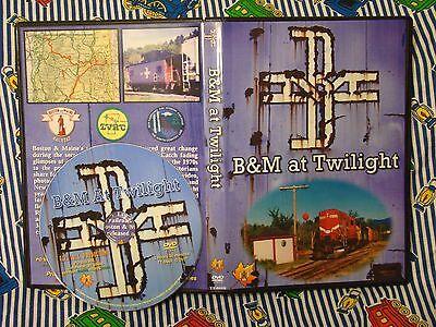 B&M At Twilight Railroad DVD