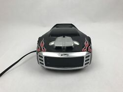 Hot Wheels AM/FM Radio Alarm Clock Emerson Mattel Flames Car Night Light