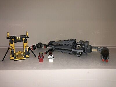 LEGO Star Wars #6208 B-Wing Bomber Complete Mini Figures Instructions - No Box