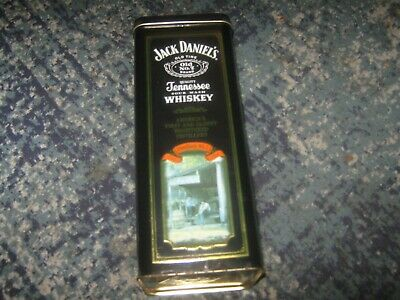 Jack Daniels full bottle empty collectors tin distillery no 1 pic used