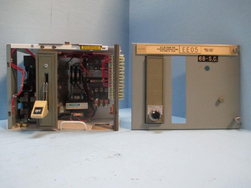 "Siemens Tiastar Furnas System 89 Size 1 Starter 60A Fused 12"" MCC MCCB Bucket"